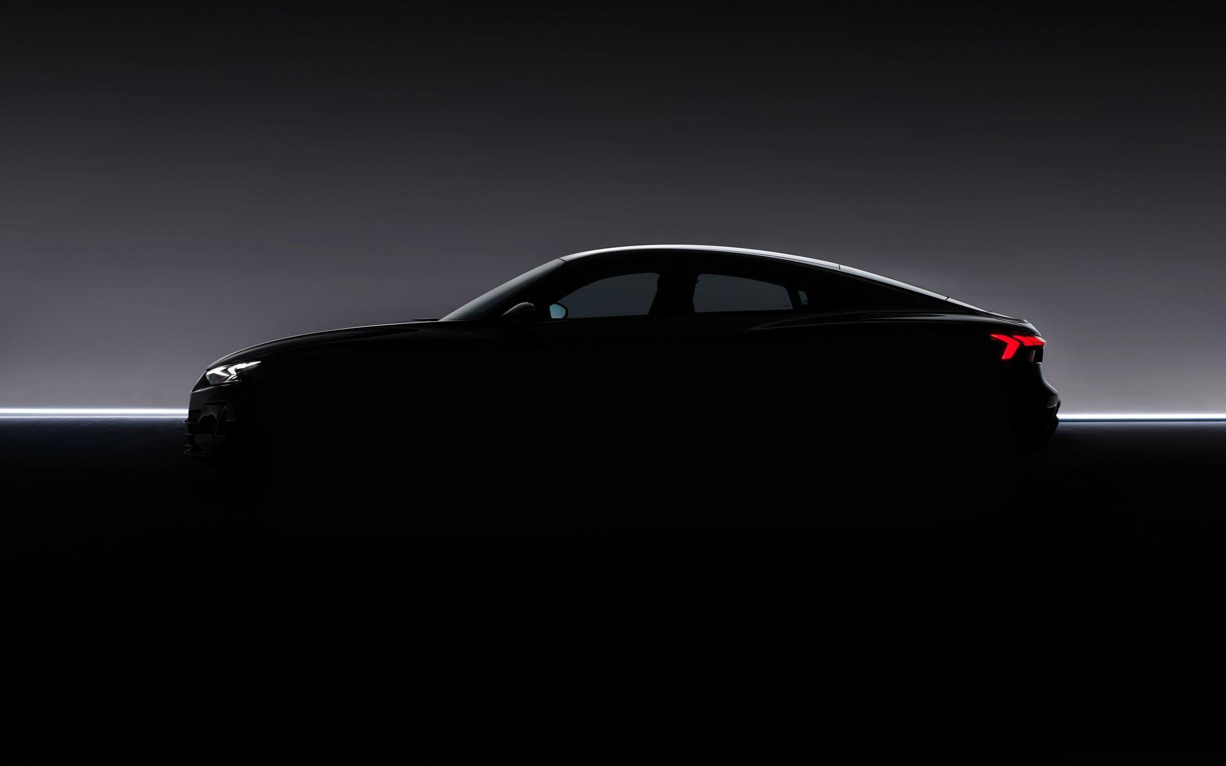 Audi e-tron GT Silhouette