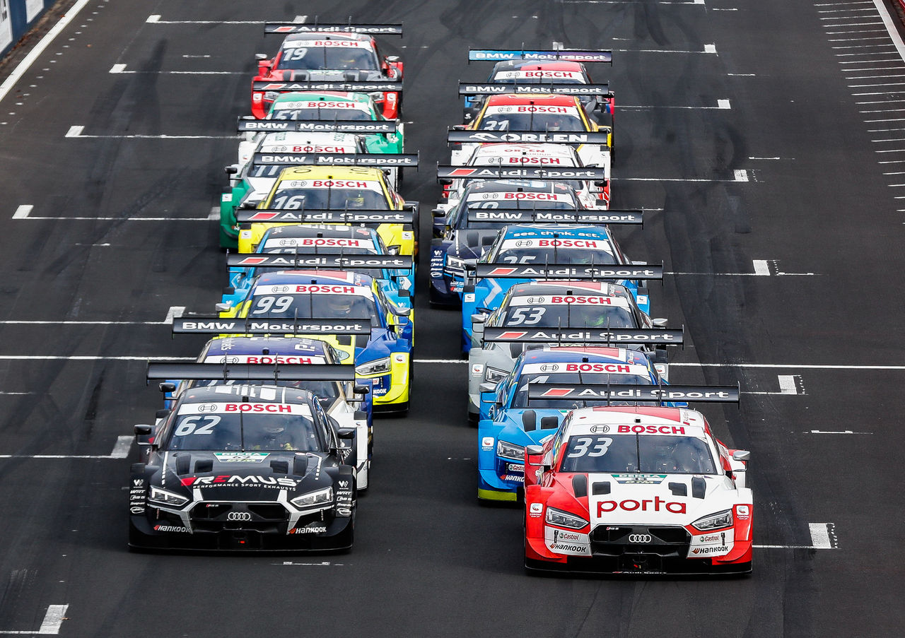Third victory in a row: René Rast takes DTM lead