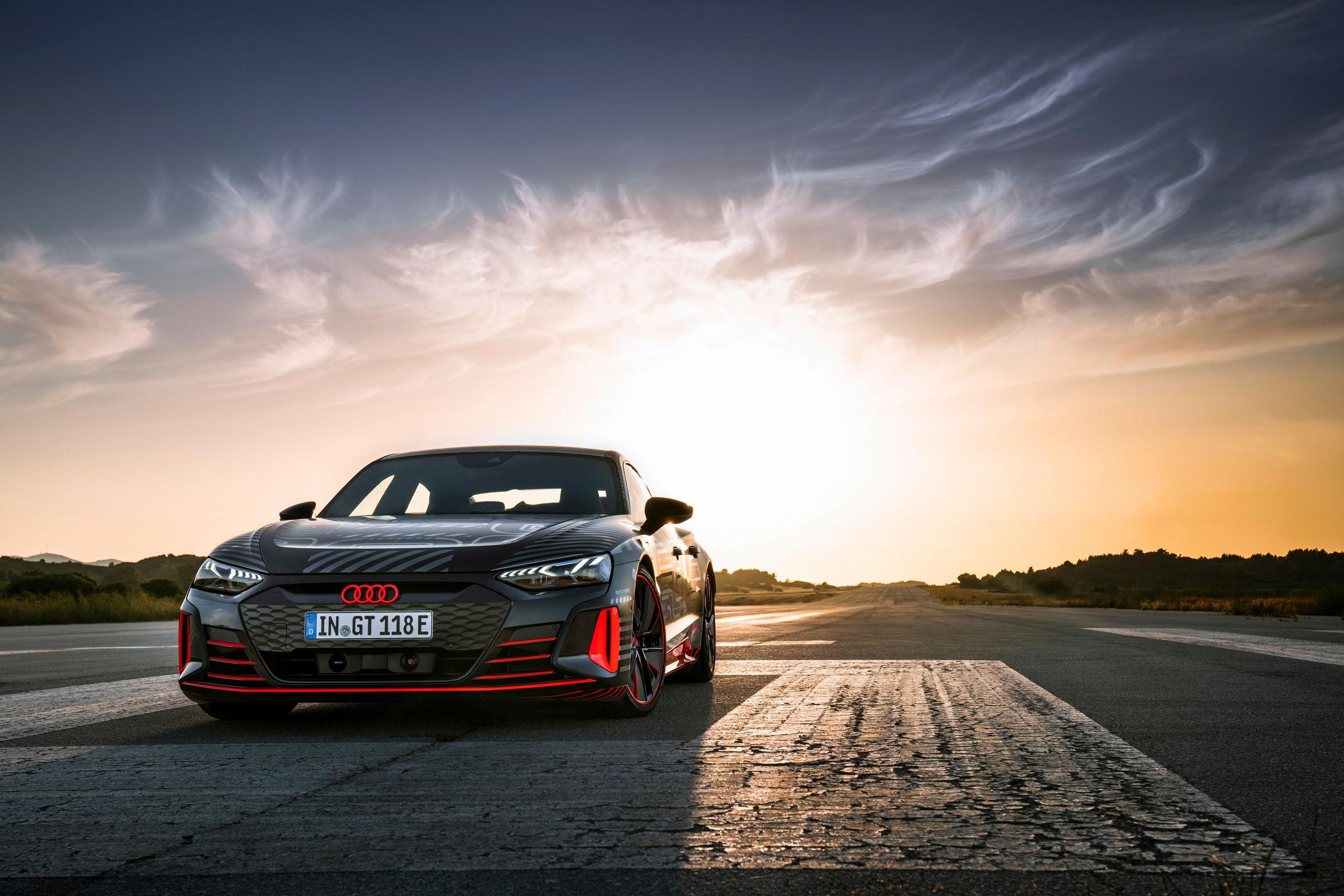 Audi RS e-tron GT prototype