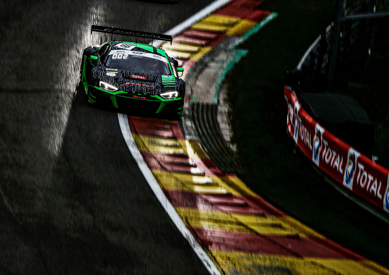 Runner-up's spot for Audi in gripping edition of the Spa 24 Hours