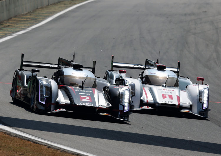 Audi's Le Mans winning trio extends lead of the Championship standings in Brazil