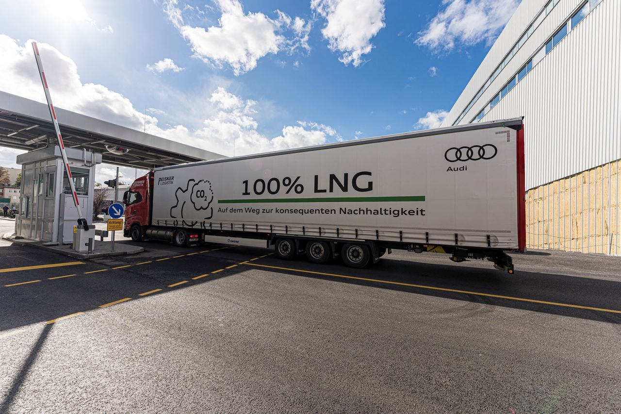 Audi site in Neckarsulm continues to drive sustainable logistics forward
