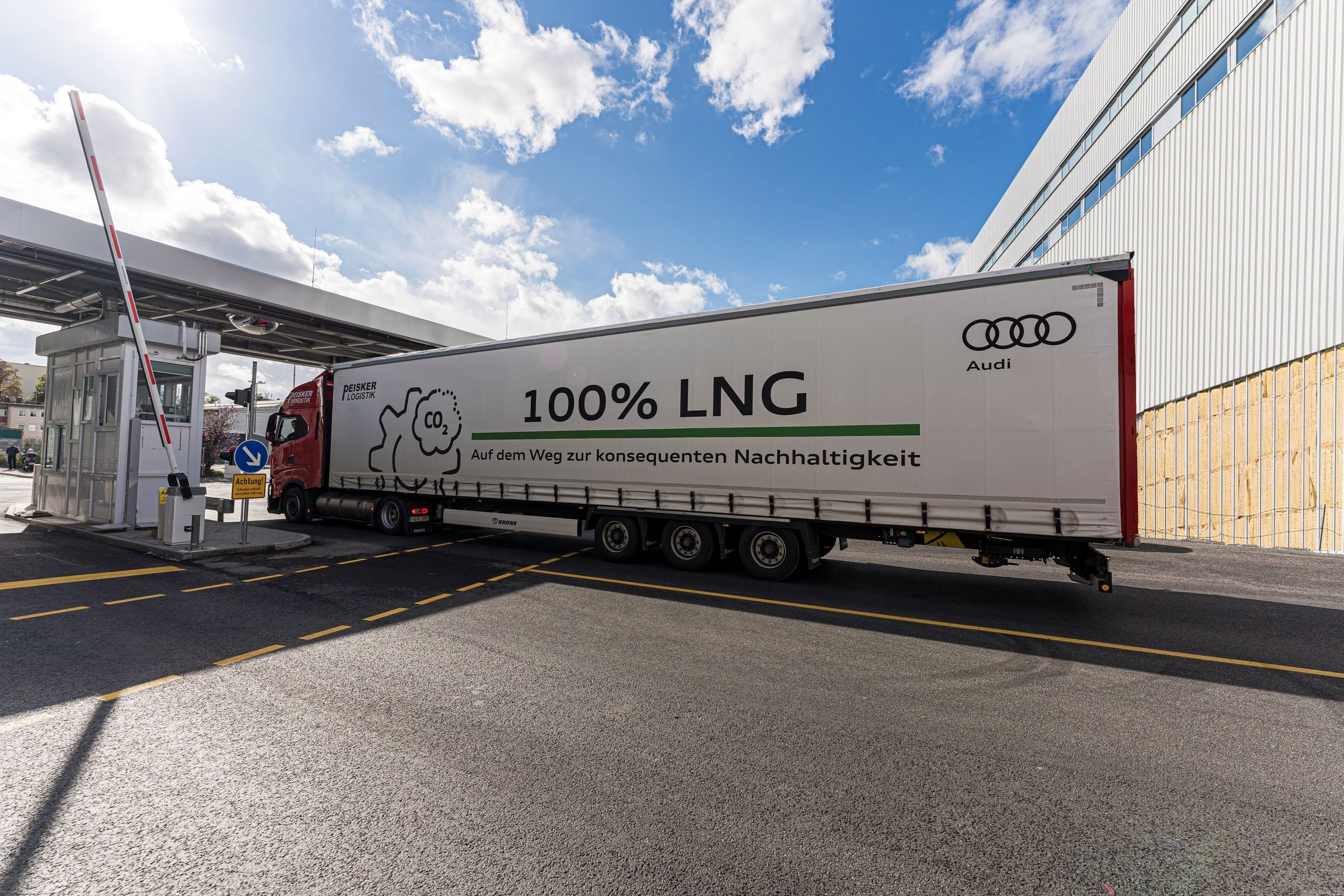 Audi-Standort Neckarsulm treibt nachhaltige Logistik weiter voran