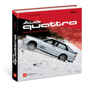 Das Audi quattro-Buch zum 40. Geburtstag