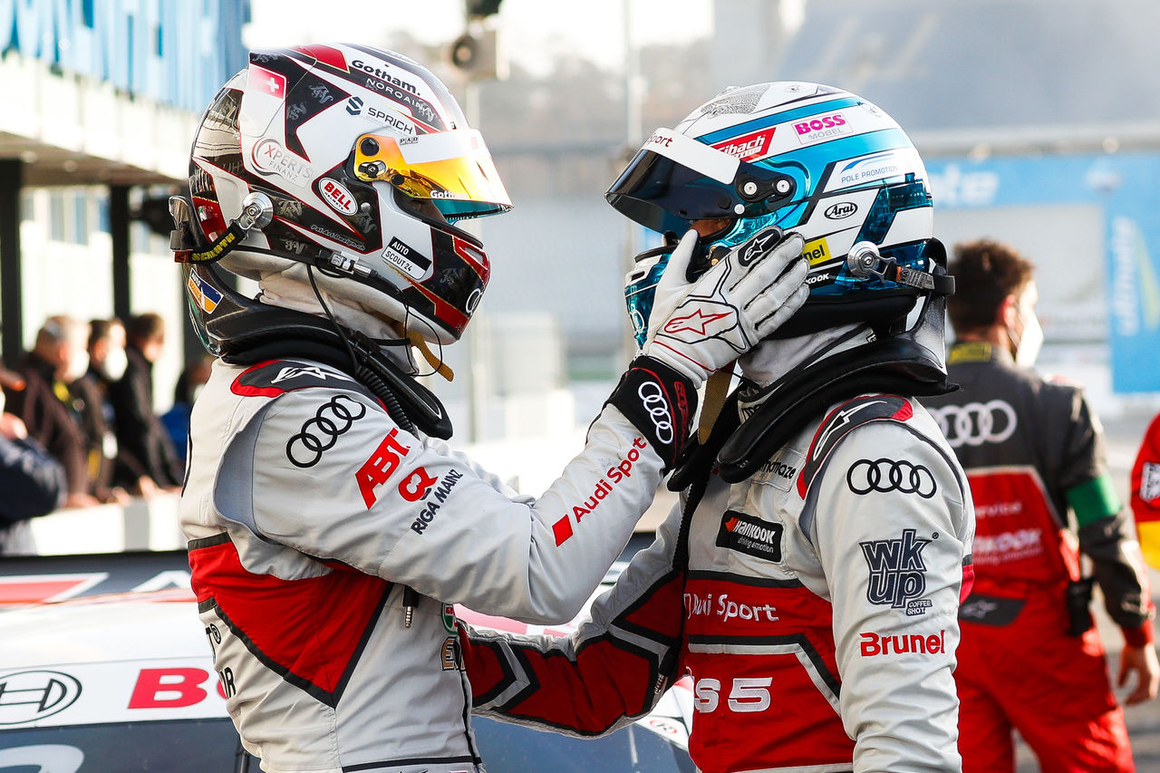Three titles in four years: Audi driver René Rast writes DTM history