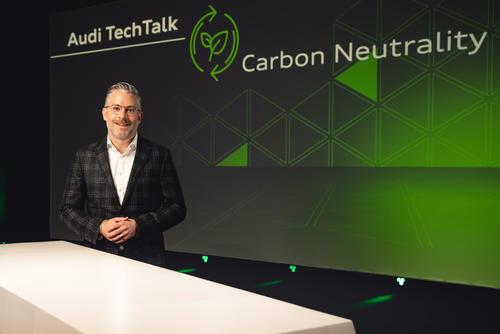 TechTalk: Audi auf dem Weg zu CO2-neutralen Produktionsstandorten