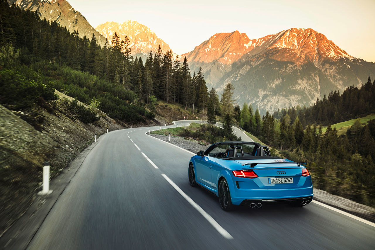 Athletic highlight: the Audi TTS competition plus