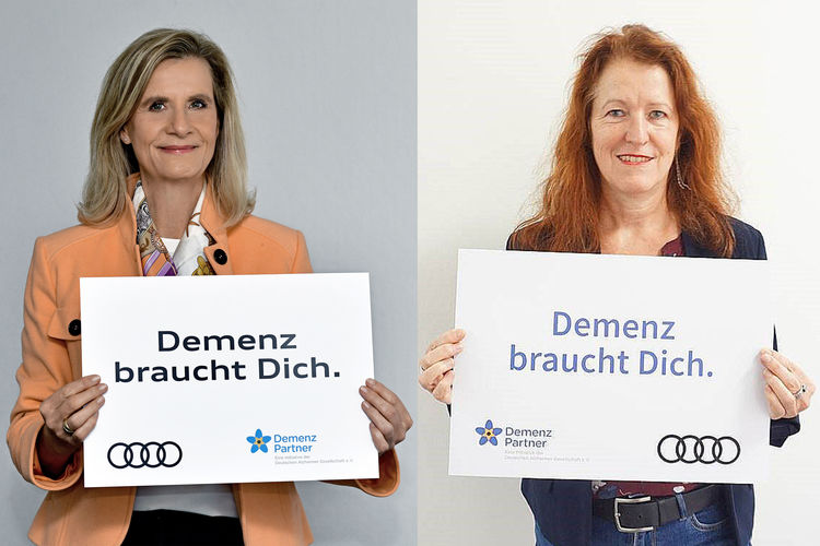 """Audi is becoming a """"Dementia Partner"""""""