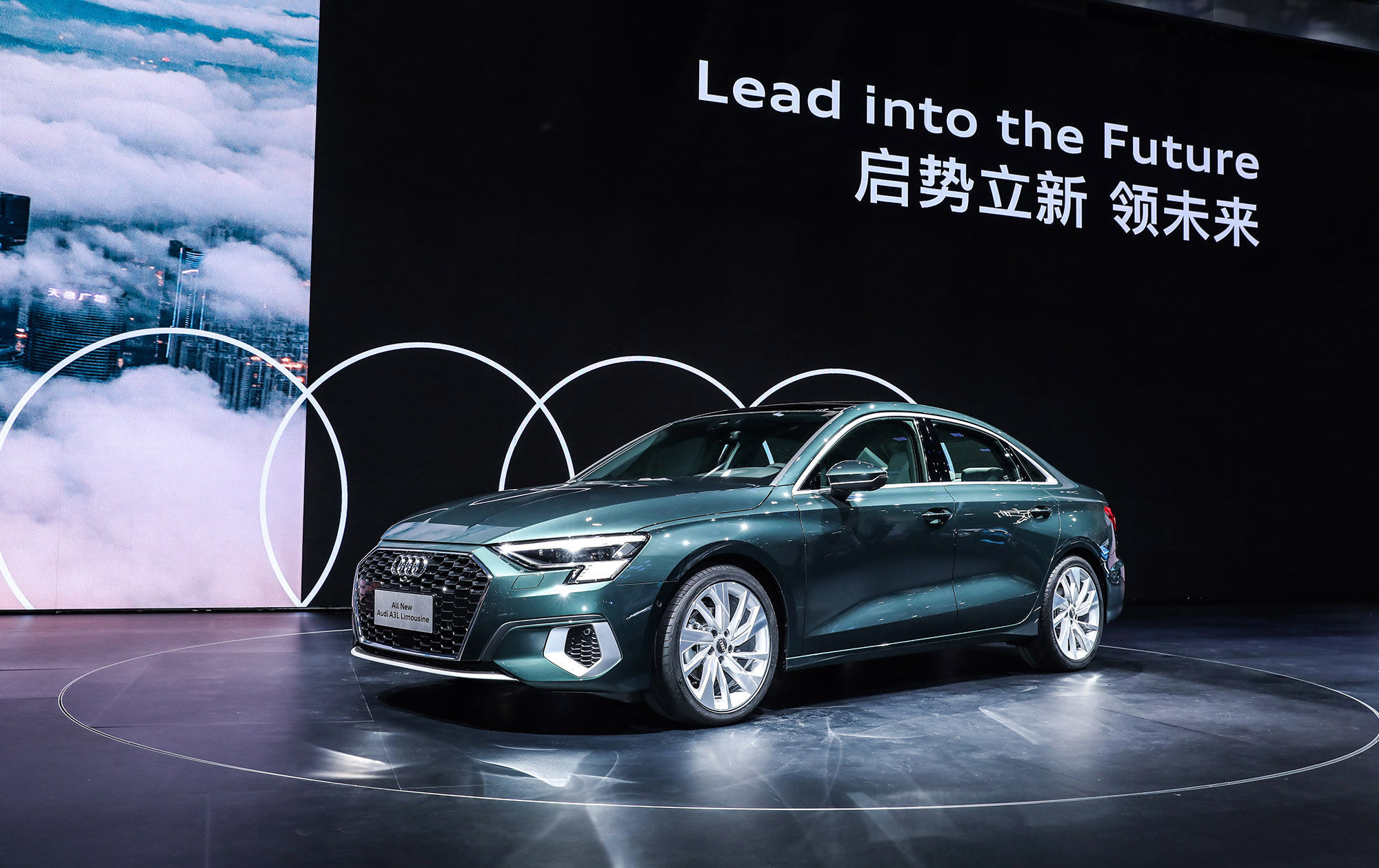 Audi in China at the Guangzhou Motorshow 2020