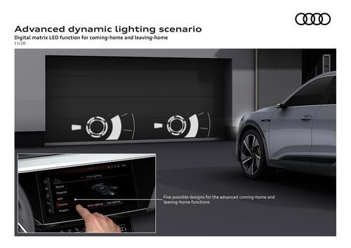 Advanced dynamic lighting scenario