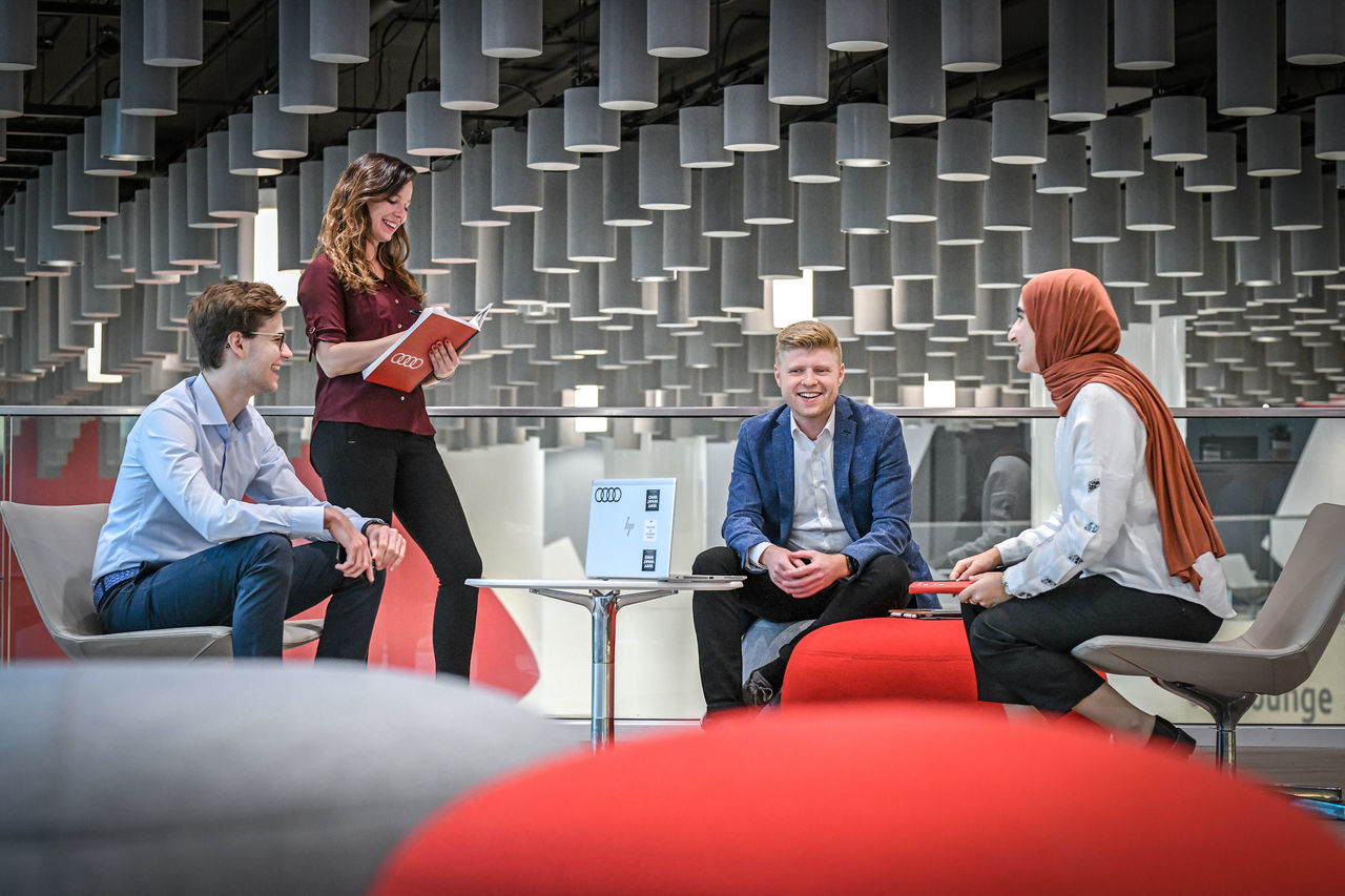 Jump-start a successful career:   New Audi Global Graduate Program