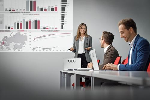 Zum Start in eine erfolgreiche Karriere: Neues Audi Global Graduate Program