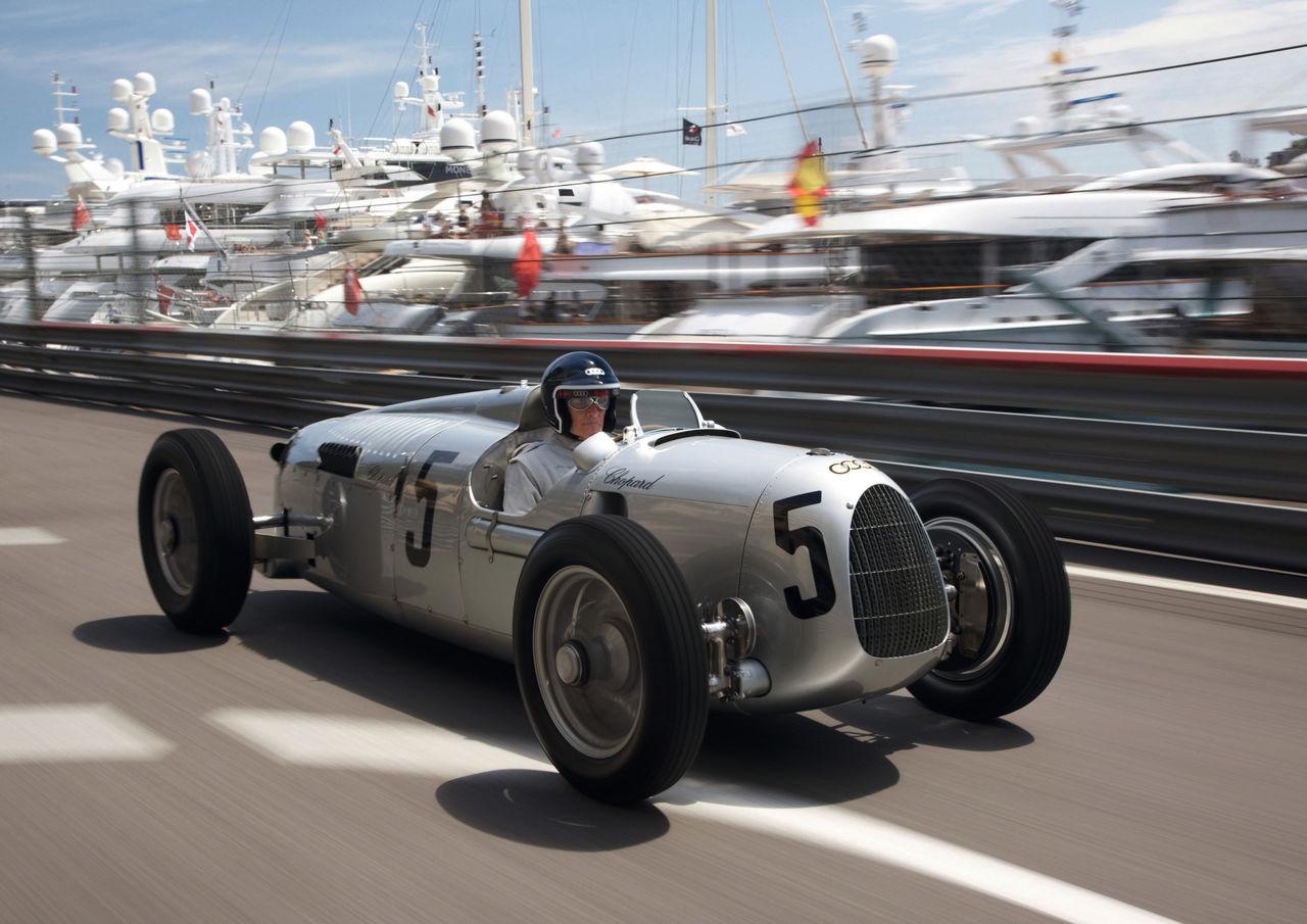 Audi Tradition in Goodwood: Revival der Silberpfeil-Ära