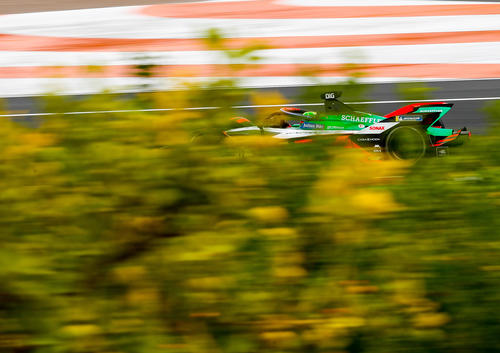 Testfahrten Formel E, Valencia 2020
