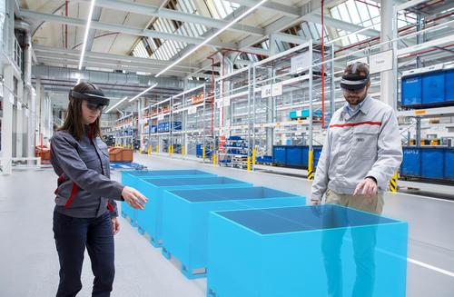 Audi steigert Effizienz in der Logistikplanung durch Augmented Reality