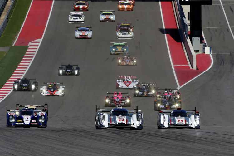 Audi drivers battle for World Championship in China