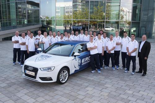 Players of ERC Ingolstadt