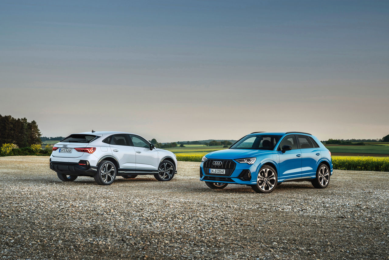 High efficiency and outstanding driving pleasure:   The Audi Q3 as a plug-in hybrid