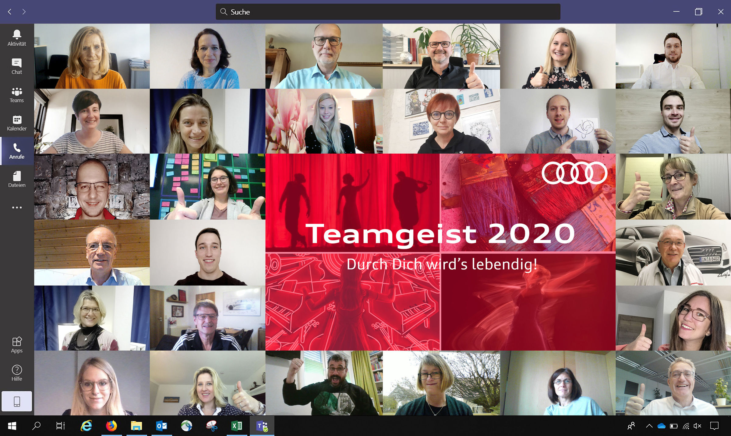 Team Spirit campaign: Audi donates EUR 52,000 to support art and cultural associations