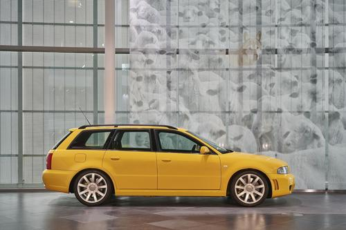 Audi museum mobile begeht 20. Geburtstag