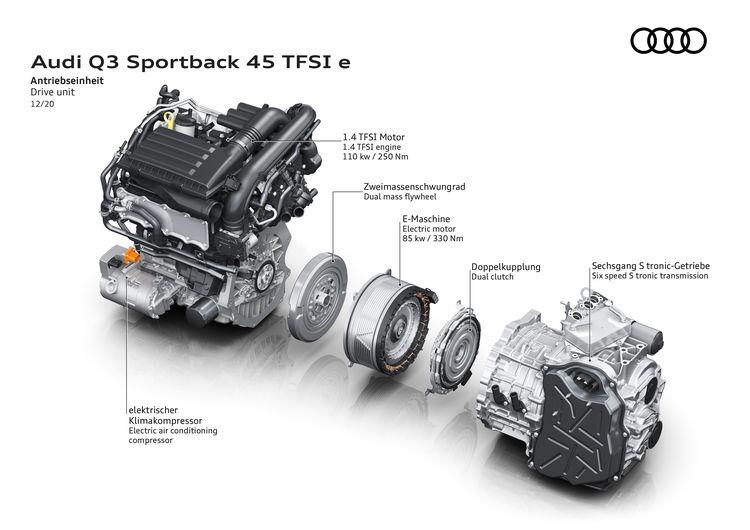 Audi Q3 Sportback 45 TFSi e