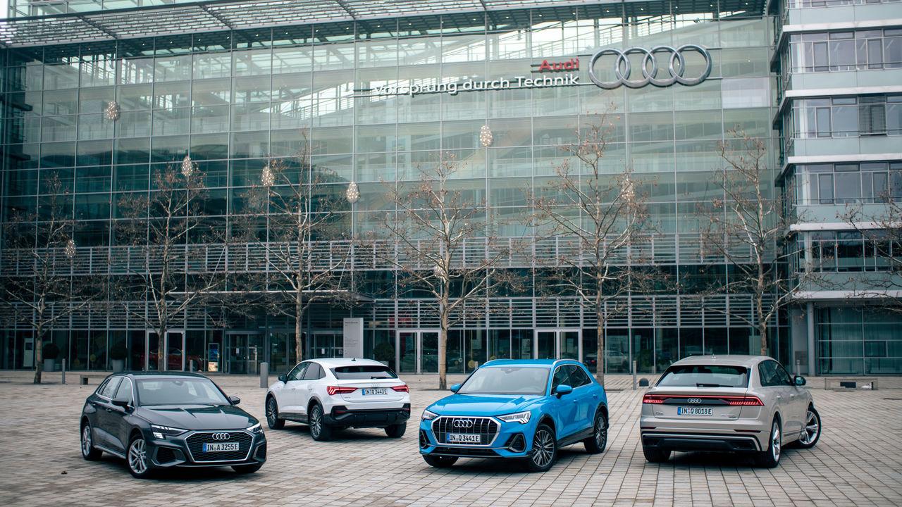The New Plug In Hybrid Models Audi A3 Audi Q3 And Audi Q3 Sportback Audi Q8 Audi Mediacenter