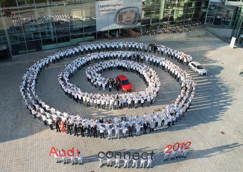 Willkommen in der Audi-Familie
