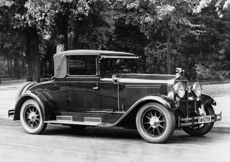 Horch 8, type 350 roadster cabriolet, 3.9 l, 8 cylinder (inline) 80 hp