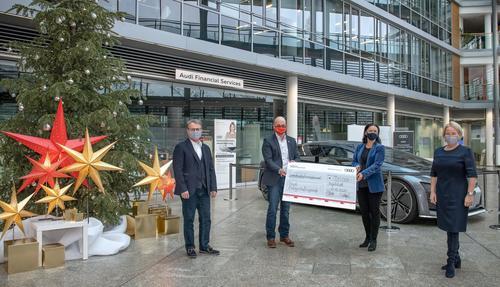 Weihnachtsspende: Audi-Belegschaft spendet 720.000 Euro für regionale Organisationen