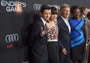 Ender's Game Premiere