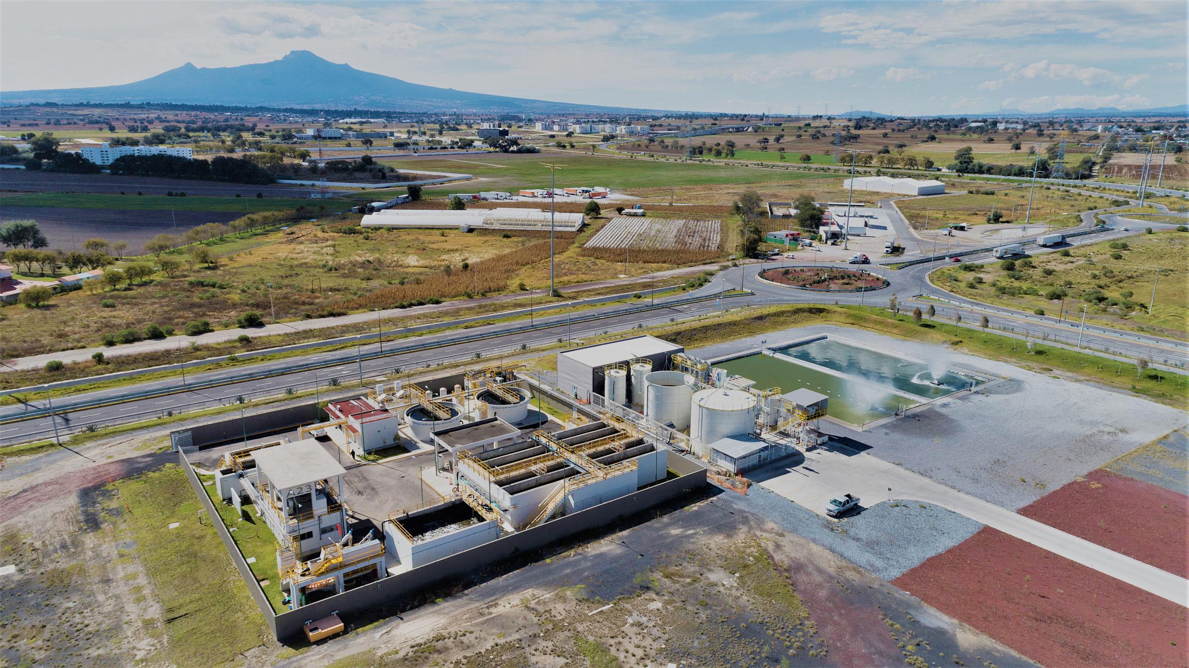Audi México cleans 100 million liters of water