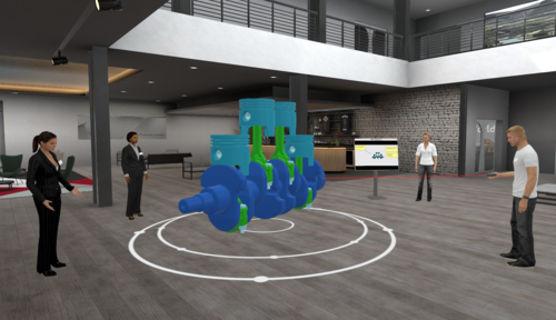"""Digital transformation: """"Audi spaces"""" enables learning and working in a virtual space"""