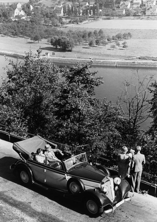 Horch 830 BL cabriolet, 3.5 l, 8 cylinder (V-engine), 82 hp
