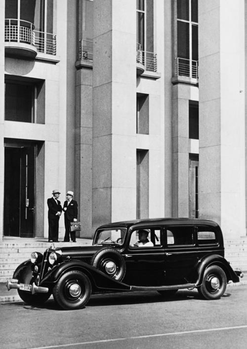 Horch 830 BL, Pullman saloon, 3.5 l, 8 cylinder (V-engine), 82 hp