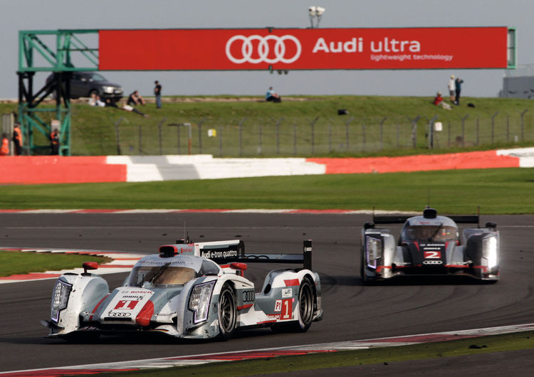 Audi R18 embarks on tour around the world
