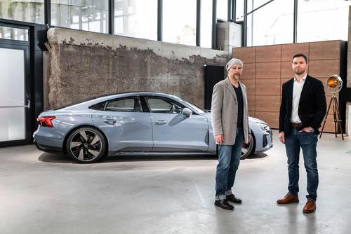 Audi e-tron GT experience - Sound