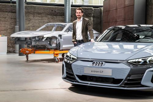 Audi e-tron GT experience - Produktion
