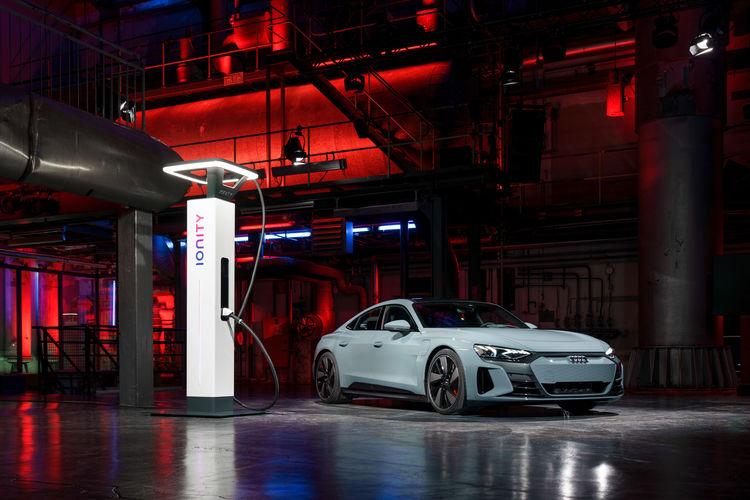 Audi e-tron GT experience - Technologie