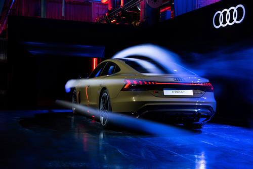 Audi e-tron GT experience - Aerodynamik
