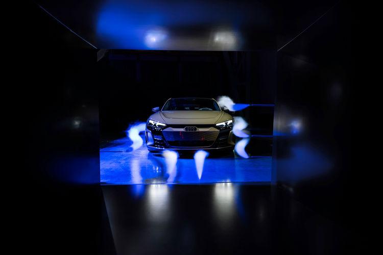 Audi e-tron GT experience - Aerodynamics