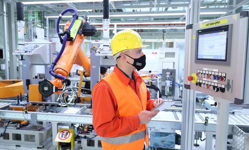 Audi Hungaria produces e-motors for future PPE model generation