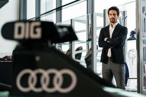 World premiere of the Audi etron GT: Sprint of Progress.