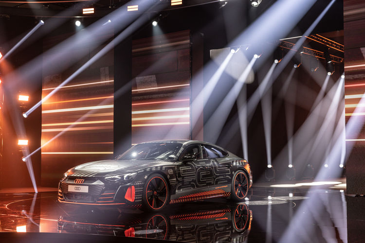 World premiere of the Audi etron GT: Sprint of Progress