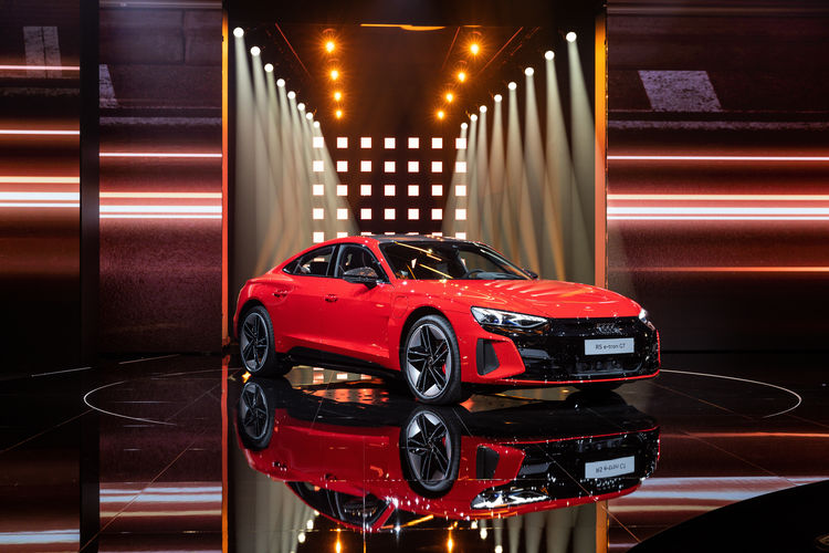 World premiere of the Audi etron GT: Celebration of Progress