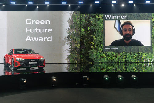 Artificial intelligence for greater sustainability and quality of life in cities: GREENTECH FESTIVAL and Audi give GREEN FUTURE Award to Zencity