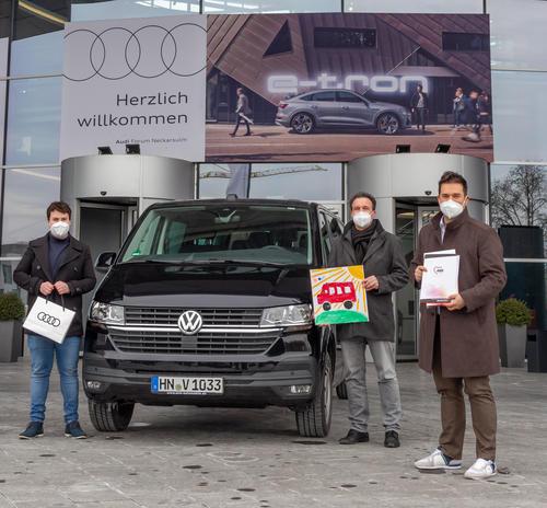 Audi-Belegschaftsspende für Kinder- und Jugendwohngruppe der AWO Heilbronn