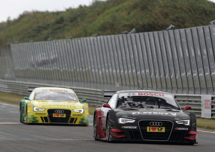 Audi one-two-three victory at Zandvoort