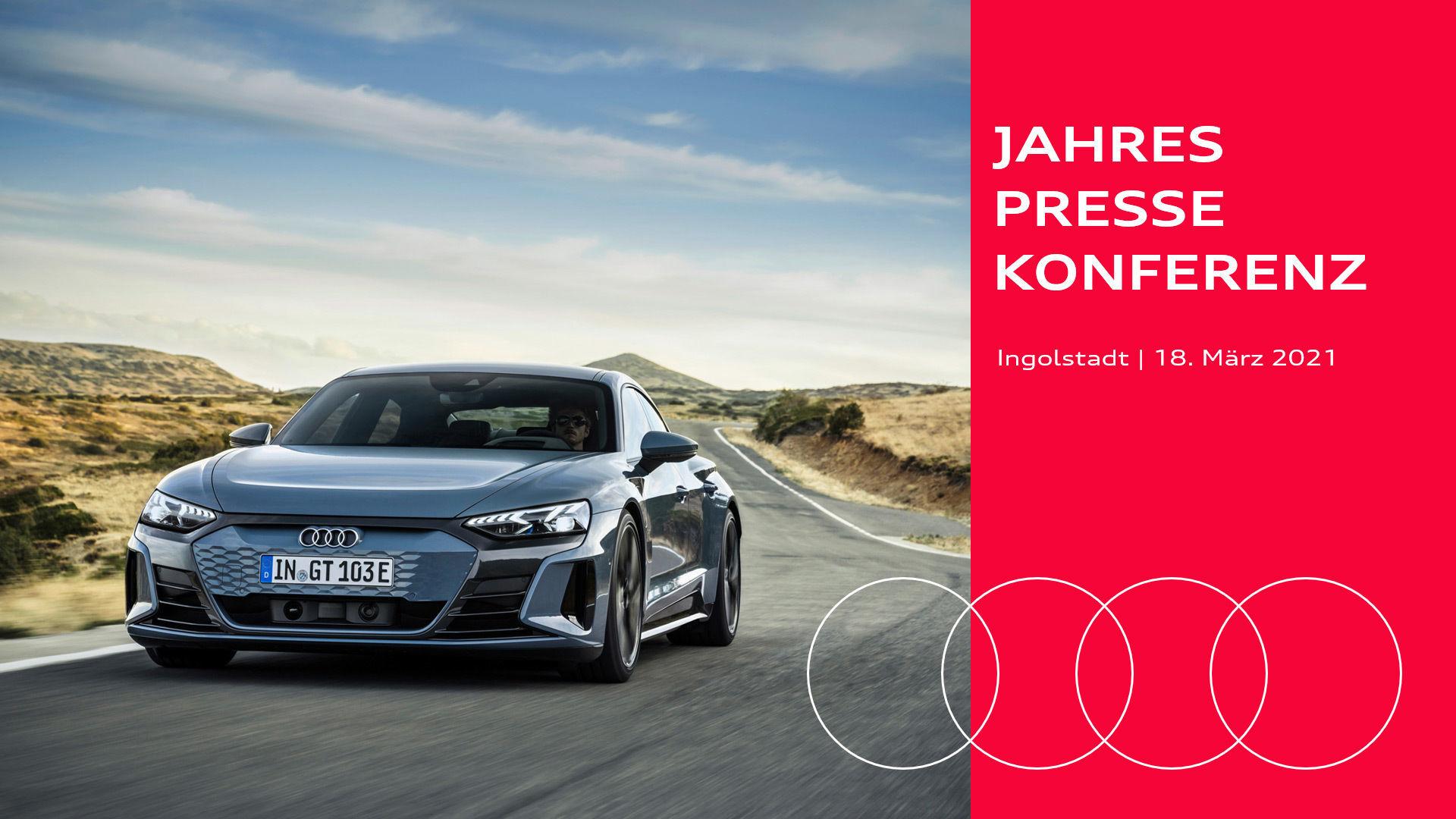 Audi Jahrespressekonferenz 2021