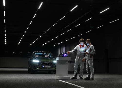 """""""Youth Research"""": entirely digital at Audi for the first time"""