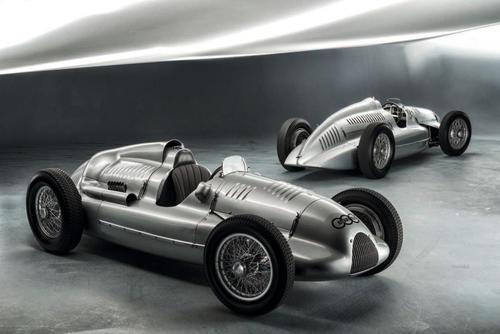 Heimgekehrt: Letzter Auto Union Silberpfeil Typ D Doppelkompressor wieder bei Audi